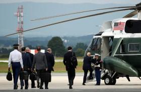 ترامب يبحث الاستراتيجية الأمريكية في أفغانستان