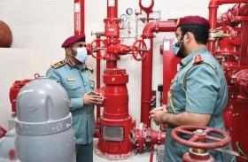 دفاع مدني أبوظبي يحث ملاك المباني على اعتماد عقود صيانة أنظمة الوقاية والسلامة