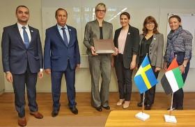 الإمارات والسويد تبحثان التعاون في مجال الأمن الغذائي المستقبلي
