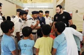 اختتام فعاليات مخيم الربيع لأصدقاء الشرطة في أبوظبي