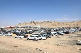 بلدية مدينة العين تحجز 3770 سيارة مهملة منذ بداية العام