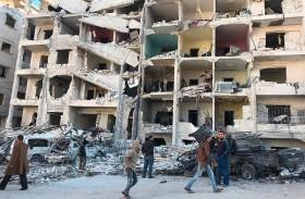 تركيا تدعو روسيا وإيران لوقف الهجوم على ادلب