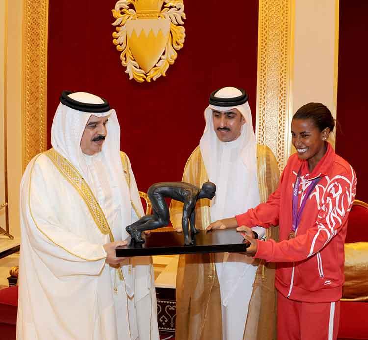 تتصدرها برونزية مريم جمال الأولمبية .. إنجازات البحرين الرياضية في عام 2012 تتواصل والحصيلة 182 ميدالية
