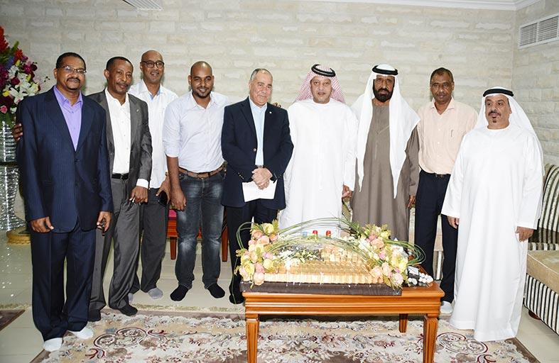 سعيد بن طحنون آل نهيان يطالب بضرورة الاستمرار في تشفير مباريات دوري الخليج العربي لكرة القدم