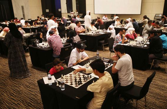 ختام مهرجان ابوظبي الدولي للشطرنج الـ 22