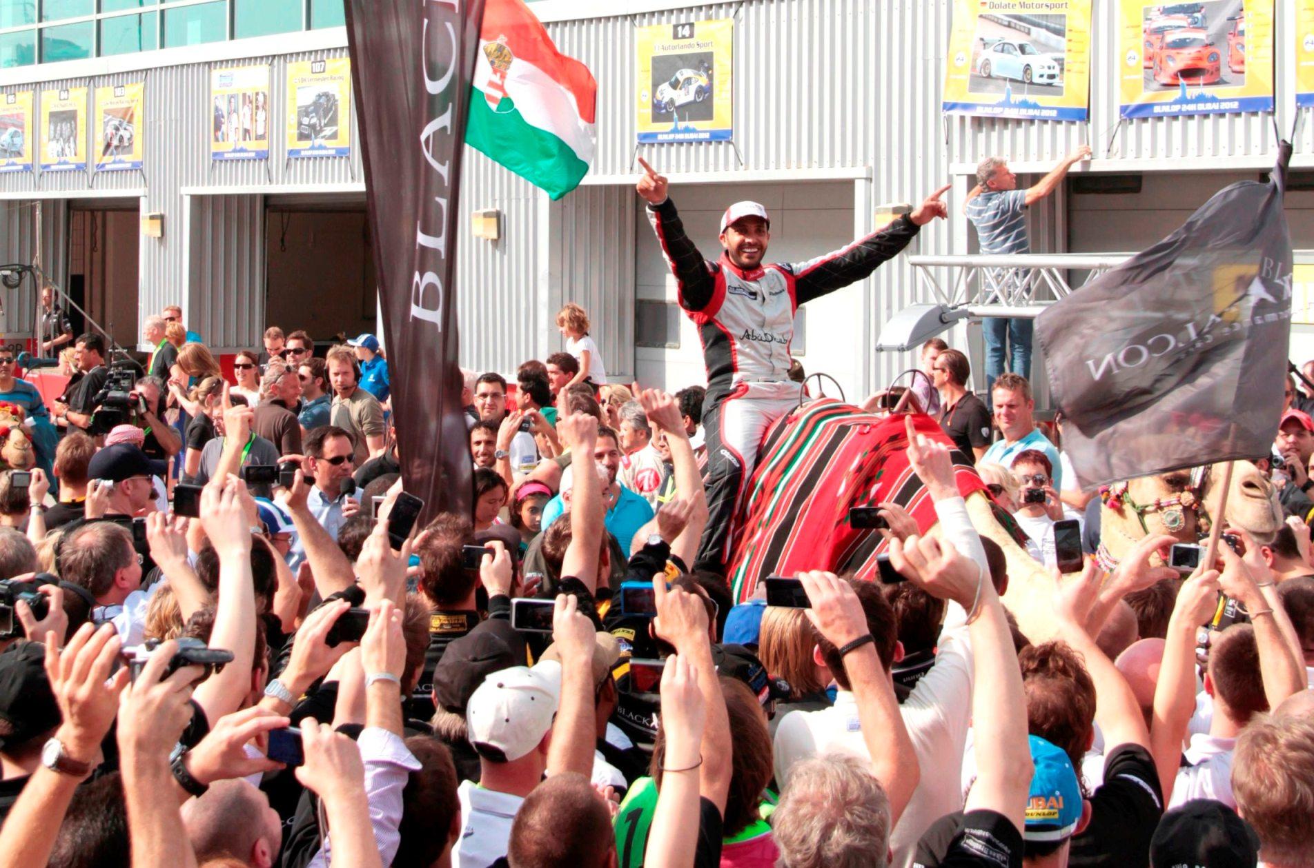 القبيسي: فريق أبوظبي ريسينغ يشكل إضافة نوعية لرياضة السيارات في الإمارات