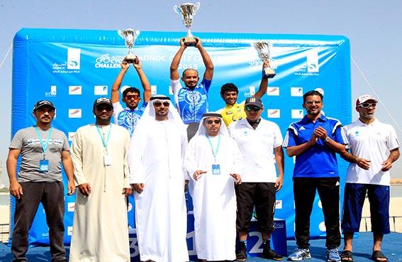 نجاح سباق تحدي أدنوك للدراجات الهوائية على كورنيش أبوظبي