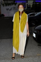 غريس جومر خلال حضورها عرض فيلم «ملكة ونحيف» في فندق فيجوروا فيبلوس أنجلوس، كاليفورنيا.ا ف ب