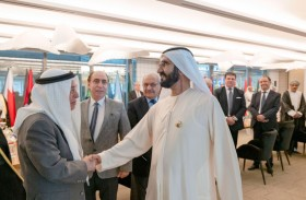 محمد بن راشد يطلع على اجتماعات اللجنة الدائمة للإعلام العربي