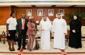 غرفة عجمان تبحث تعزيز التعاون الاقتصادي مع غانا