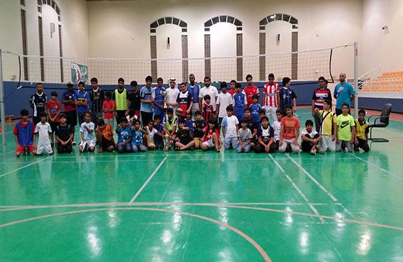 اختتام فعاليات بطولة الفرجان لكرة الطائرة في مركز ناشئة خورفكان