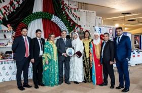 فوز جناح الإمارات في معرض السوق الخيري للأمم المتحدة بالجائزة الأولى