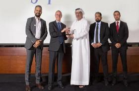 حرة مطار الشارقة الدولي تتوج بجائزة «سوبر براندز» العالمية