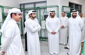 حمدان بن محمد يزور مقر دائرة التنمية الإقتصادية في دبي