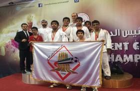 نادي الشارقة الرياضي يُحرز سبع ميداليات ملونة ببطولة كأس  رئيس الدولة للجودو