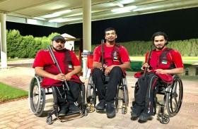 « زايد العليا» تنظم البطولة الرمضانية الأولى لأصحاب الهمم في رماية الشوزن