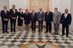 رئيس مالطا يستقبل وفد المجلس العالمي للتسامح والسلام