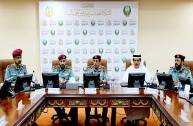 لجنة القيادة العُليا لشرطة رأس الخيمة تعقد اجتماعها الحادي عشر لعام 2018