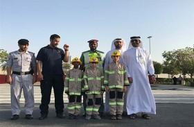 بلدية مدينة أبوظبي تنظم ورشة تحت عنوان « الإطفائي الصغير»