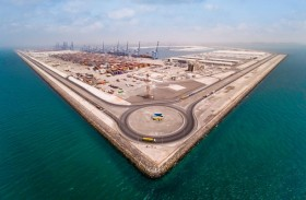 مرافئ أبوظبي تحتفل بمناولتها 10,000,000 حاوية نمطية في ميناء خليفة