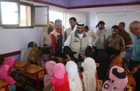 بدعم إماراتي .. تدشين حملة العودة إلى المدرسة في الساحل الغربي اليمني