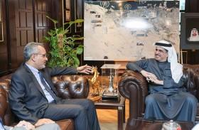 السفير البرازيلي يثمن التسهيلات المقدمة من «ديوا» لشركات بلاده العاملة في دبي