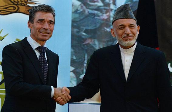الناتو يرهن وجوده في أفغانستان بالاتفاق الأمني