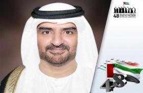 عبدالله بن سالم القاسمي: مجتمعنا نموذج يحتذى به في مسيرة الوحدة واللحمة الوطنية