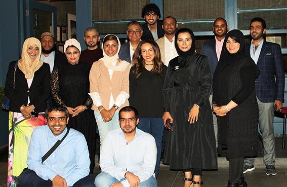 18 طالبا من ماجستير إدارة الاعمال بكلية ابوظبي للإدارة يشاركون في دورة تدريبية بلندن