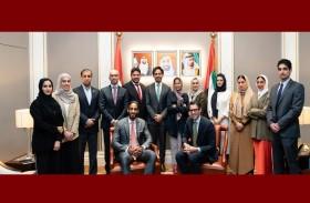 لجنة دبي للاتصال الخارجي تناقش في لندن فرص تعزيز التعاون في مجال الاتصال الاستراتيجي