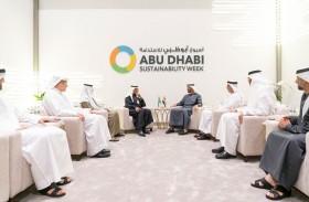 محمد بن زايد يلتقي وزير الطاقة السعودي