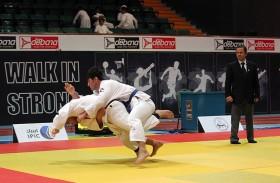 لجنة أبوظبي غراند سلام للجودو2017 تتفقد أروقة البطولة بصالة آيبيك الرياضية