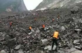 فقدان 140 شخصا على اثر انهيار أرضي في الصين