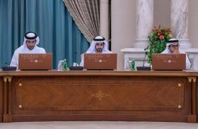 عبدالله بن سالم القاسمي يترأس اجتماع تنفيذي الشارقة