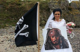 تزوجت شبح قرصان