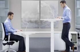 العمل في المكتب واقفاً .. أفضل للصحة؟