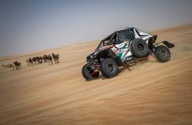 بطلا فئة الـ «تي3» لرالي أبوظبي الصحراوي