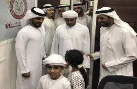 مركز السعادة المتنقل بشرطة أبوظبي ينجز 692 معاملة في الظفرة