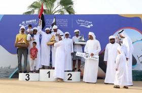 منافسات قوية بين المشاركين في الرياضات البحرية في اليوم الثالث من المهرجان