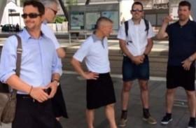 لماذا ارتدى سائقو الحافلات التنانير؟