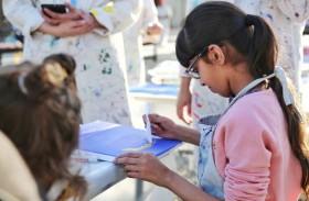 مركز حمدان بن محمد لإحياء التراث ينظم رابع ورش العمل الفنية للأطفال في القرية التراثية