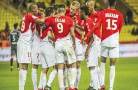 موناكو مستمر في دوري الأضواء الفرنسي