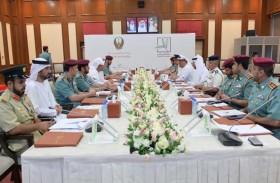 مجلس قيادات الشرطة بوزارة الداخلية يبحث فى أبوظبي استراتيجية تطوير الأداء