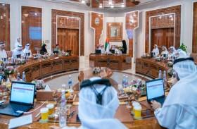 حاكم عجمان يحضر الجلسة الافتتاحية للمجلس التنفيذي لعام 2020
