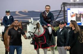 تألق فرسان عائلة الكربي الإماراتية في سماء دوليات القفز للمراحل السنية