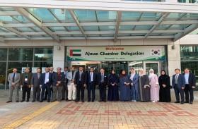 غرفة عجمان تعزز حضورها الدولي خلال العام 2019