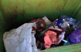 العثور على جثة رضيع في القمامة