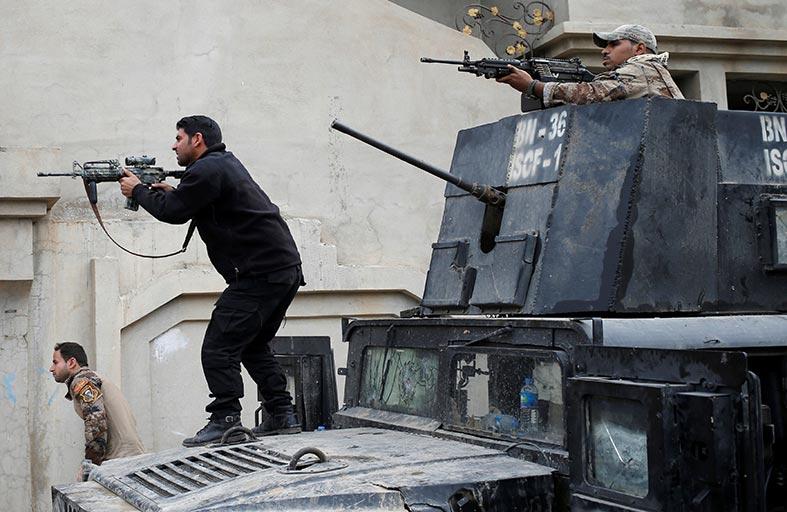 الجيش العراقي يطارد السيارات المفخخة في الموصل
