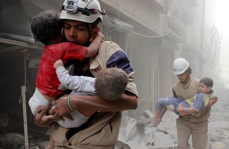 انهيار الهدنة واتفاق إجلاء السكان في حلب