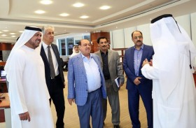 رئيس مجلس النواب اليمني يزور الأرشيف الوطني ويشيد بتطوره وبدوره في توثيق العلاقات الإماراتية اليمنية